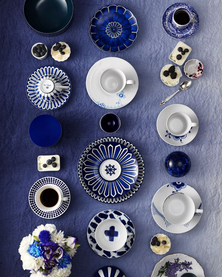 midnight - anthem — p-musette: (A Case For Blue and White   Wit &...
