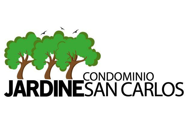 Logo para Condominio Jardines de San Carlos.-