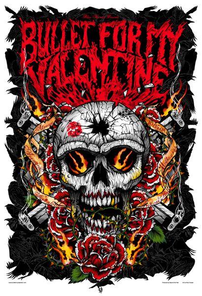Bullet For My Valentine - Avenged Sevenfold - Atreyu <333