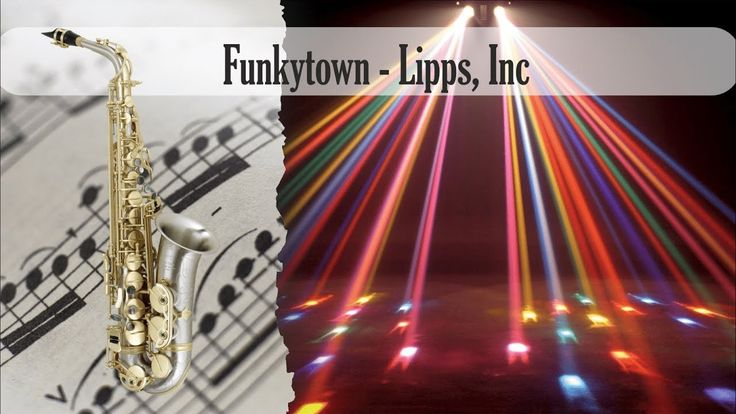 Partitura Funkytown - Lipps, Inc Saxofón Alto