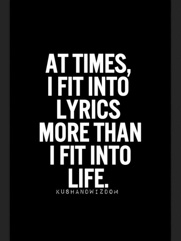 Music, lyrics, life | Music = Life | Pinterest