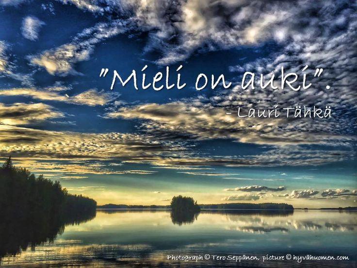 Uusimmassa MeNaisissa (25-26/2016) oli parikin mieleenpainuvaa juttua. Ystäväni Pirjo Toivasen novelli Kesä joka ei tullut kruunaa kesäliitteen ja Lauri Tähkä miettii viisaita haastattelussaan. Pir…