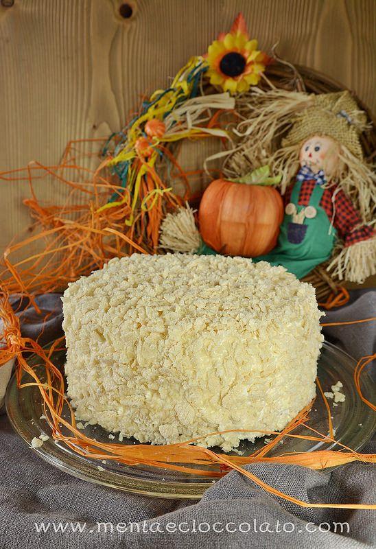 Menta e Cioccolato: Torta con la Zucca alla Vaniglia - Pumpkin crunch cake