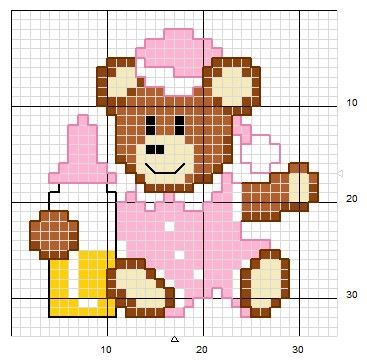 Little bear  pink
