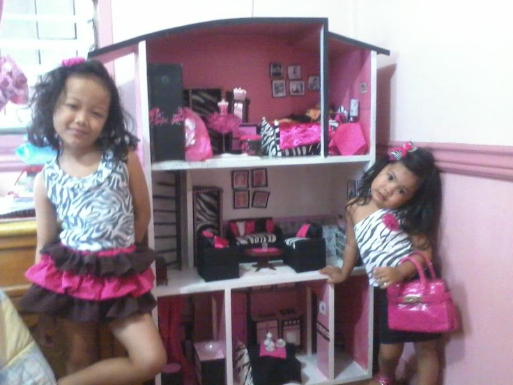 My Diy Barbie Doll House Toys Pinterest Doll Houses Barbie Doll House And Dolls