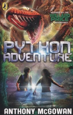Python adventure / Anthony McGowan ; illustrated by Nelson Evergreen - click here to reserve a copy from Prospect Library