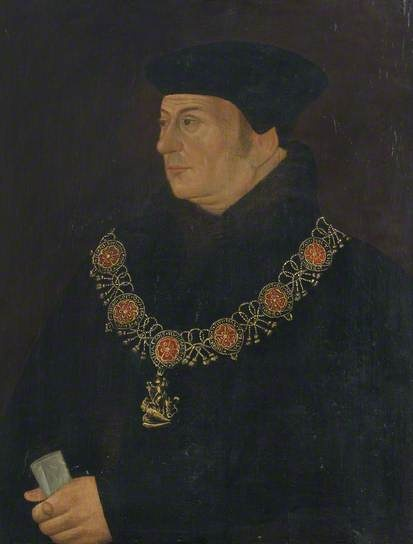 Thomas Cromwell (1485–1540), 1st Earl of Essex, Chief Minister to Henry VIII  by Hans Holbein the younger