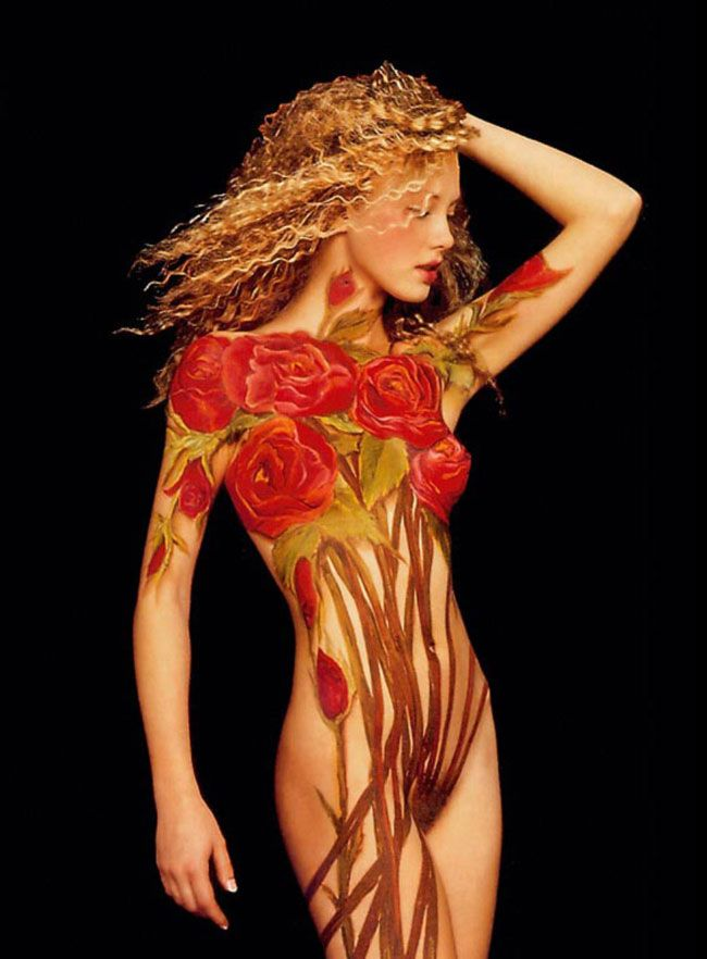 beautiful body paint