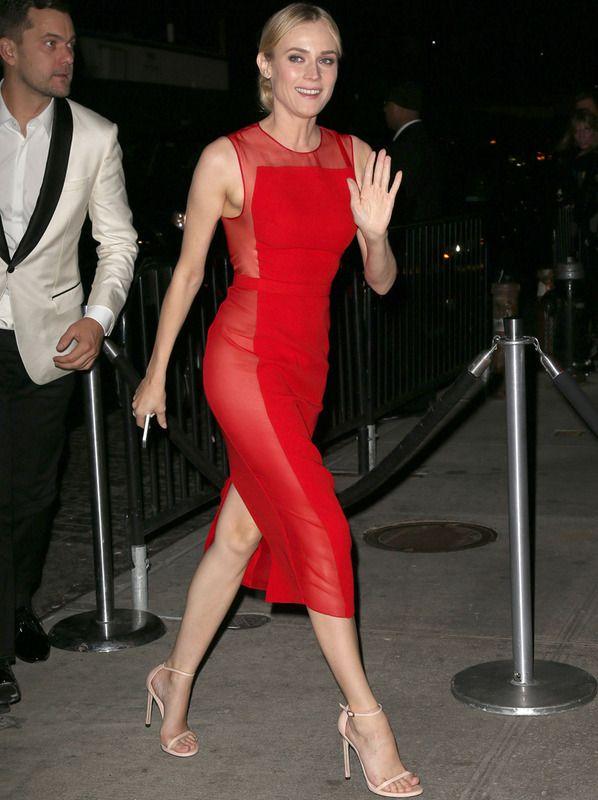 Diane Kruger, en la post-party del MET