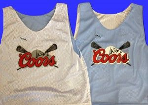 buy Coors Light Lacrosse Pinnies - Coors Light Pinnies - Bethesda Maryland Lacrosse Pinnies