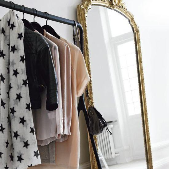Zwart - Goud - Barokke spiegel