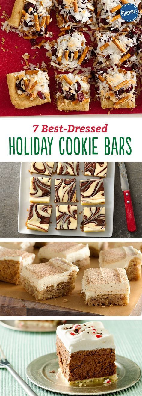 Your easiest-ever Christmas is just a recipe away. Everyone agrees cookie bars rule! Find showstoppers that easy to make ahead for your busiest days. They are fun to make and delicious to eat! If you have guest over for the holidays, these bars are sure to impress.