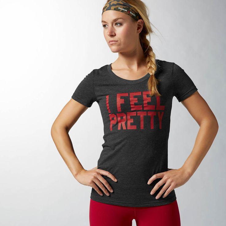 Reebok CrossFit Feel Pretty Tee Brand: Reebok Store: Reebok Availability: In  Stock Price: