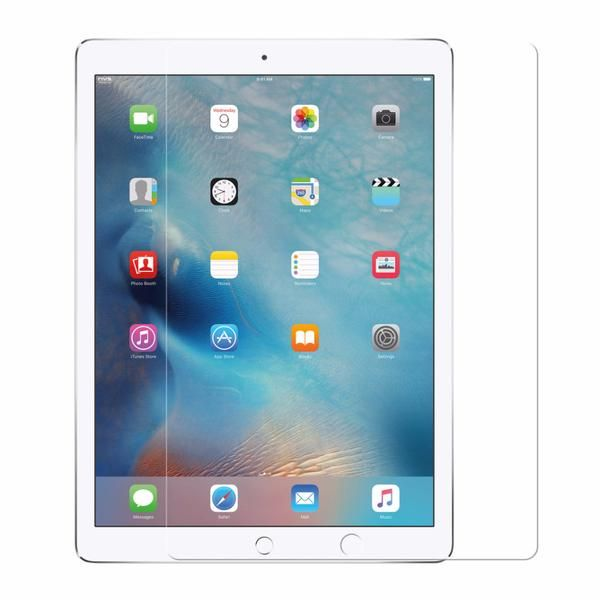 NVS Glass. Easy application with a bubble-free finish. Tempered glass offers superior durability and scratch prevention For iPad Air/Pro