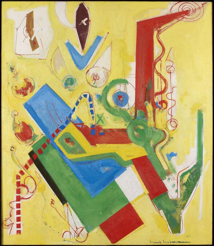 HANS HOFMANN (1880-1966) YELLOW PREDOMINANCE, 1949 Huile sur toile Signée et datée 49 en bas à droite Oil on canvas Signed and dated 49 lower right 152,5 x 132 cm  Provenance : André Emmerich Gallery, New York Waddington Galleries, Londres Crane Kalman Gallery, Londres Collection particulière, New York