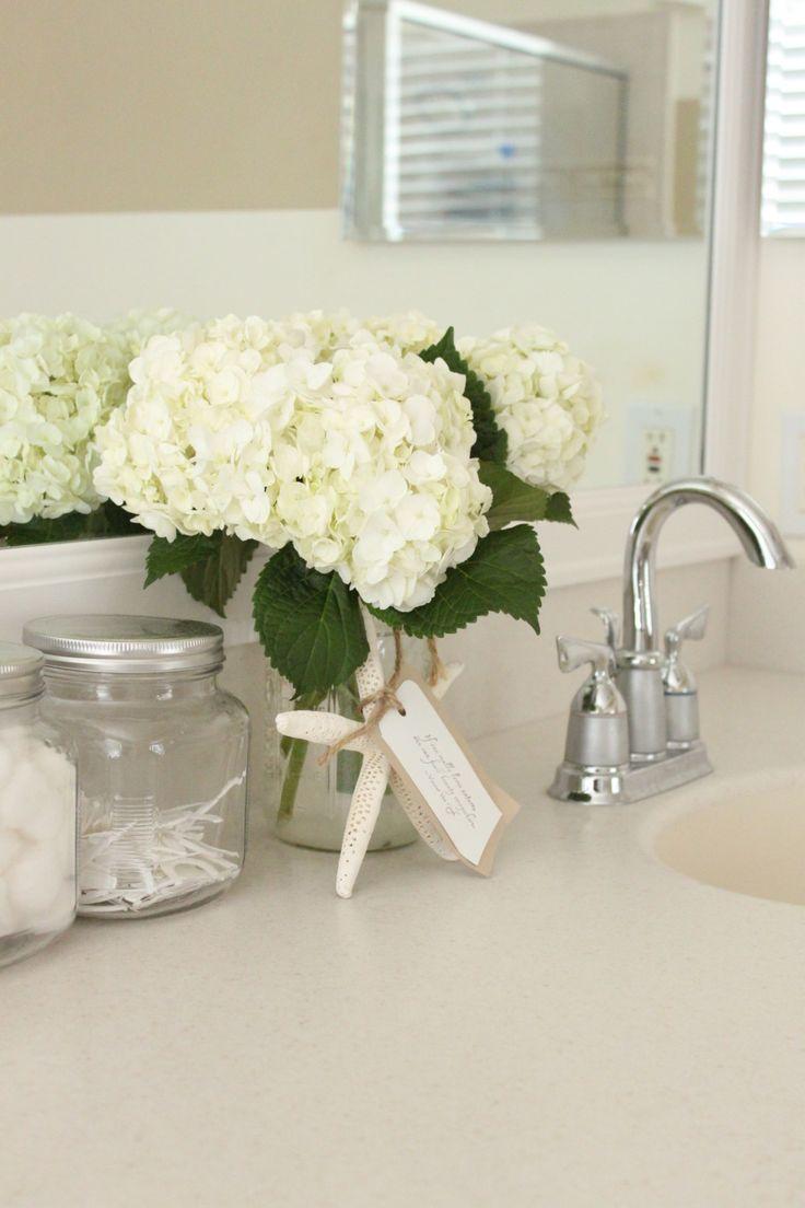 Starfish decorations for bathroom - Coastal Master Bathroom Decor Starfish Cottage