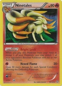 Ninetales 19/124 - Pokemon Dragons Exalted Holo Rare Card