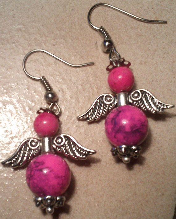Engel Ohrhänger von Geschenksideen auf Etsy