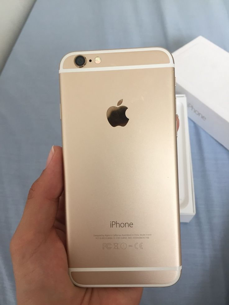 Iphone 6 Dorado - $ 9.400,00 en MercadoLibre