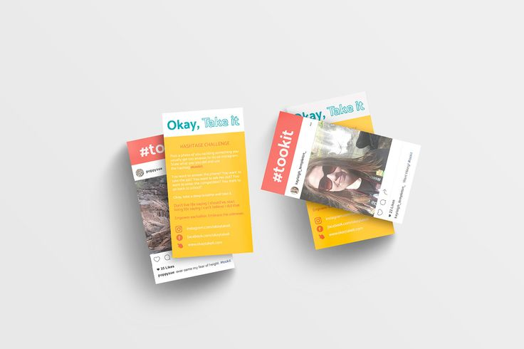 Okay, Take It Campaign Business Card – Kayleigh Templeton