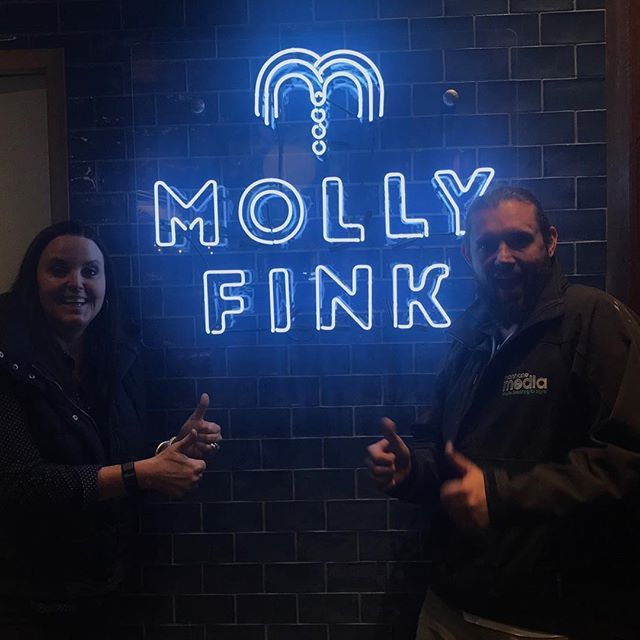 """CHECK.IT.OUT! 😱 We are loving our new Molly Fink neon sign thanks to the talented legends at @marshanemedia 👌🏻 Come and check it out! . . . #raisingthebar #newbeginnings #mollyfinkbar #neon #alburyhospitality #deanstreetalbury #alburypubs #visitalburywodonga #visitnsw #visitaw #events #eventspace #forhire"" by @publichousealbury. #이벤트 #show #parties #entertainment #catering #travelling #traveler #tourism #travelingram #igtravel #europe #traveller #travelblog #tourist #travelblogger…"