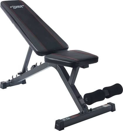 Fitness Gear Utility Weight Bench, Silver