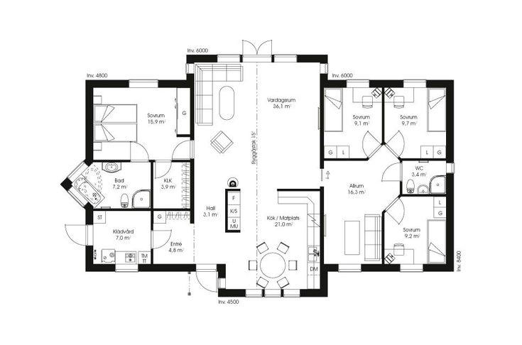 Trubaduren 155 är ett stort enplanshus med en både smart och lyxig planlösning. Ett riktigt drömhus för barnfamiljen som både vill umgås och få tid...