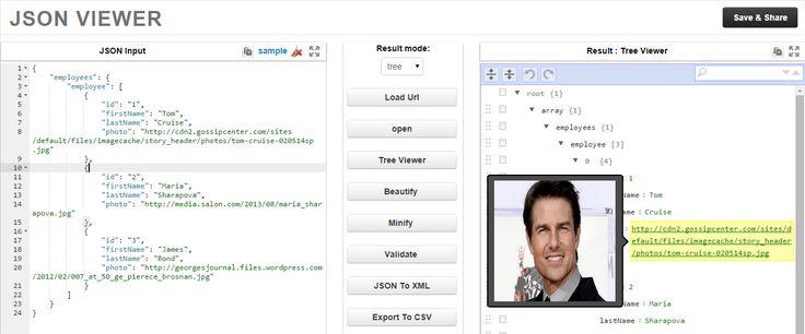 Best Online JSON Viewer, Beautifier, Formatter, Analyser, Minify, Converter