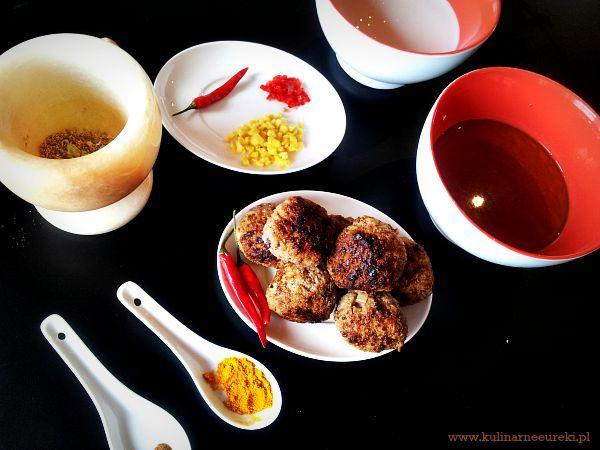 Aromatyczna zupa azjatycka - skladniki