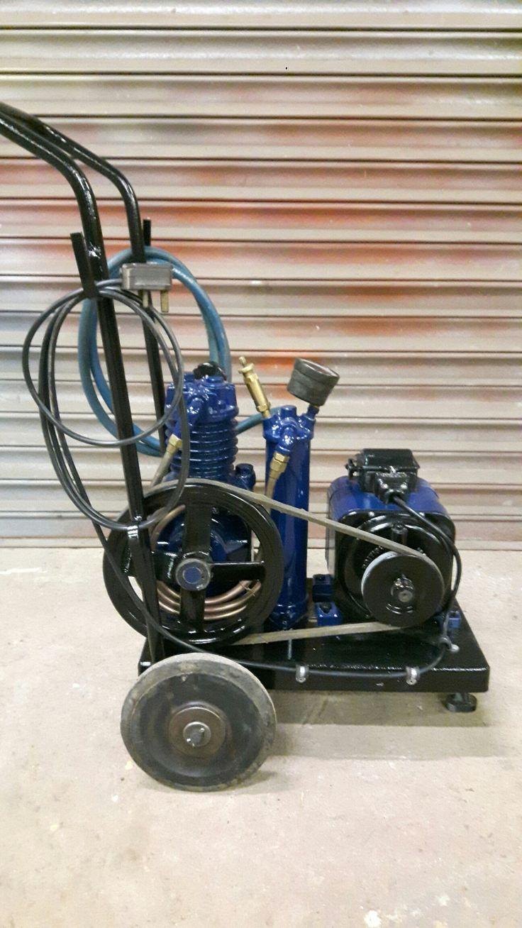 Vintage air compressor (con imágenes) Compresor