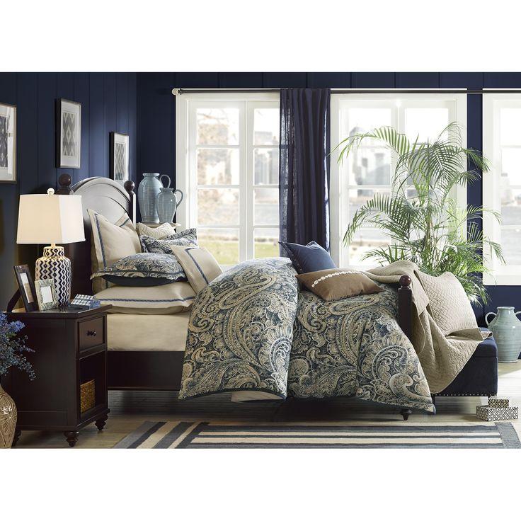 Hampton Hill Urban Chic Navy Comforter Set