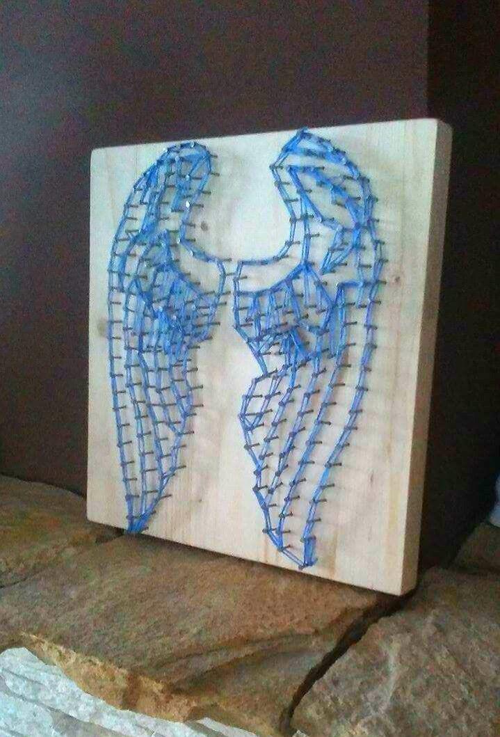 StringArt-  angel wings