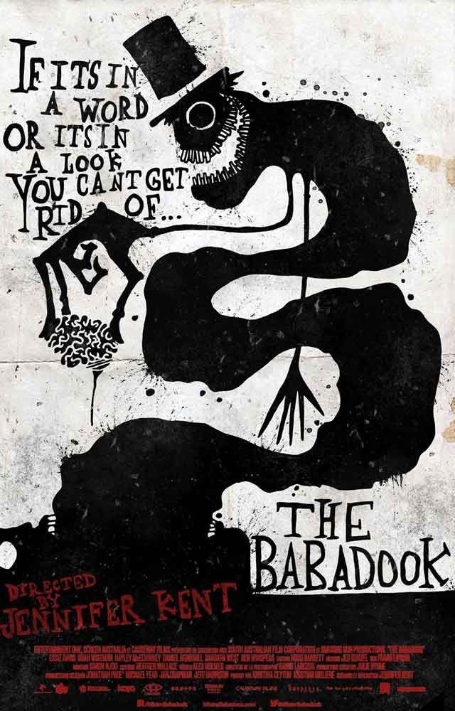 The Babadook You Can't Get Rid Of Quote Movie Poster 11x17