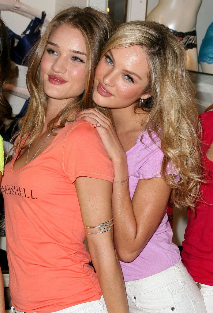 Candice Swanepoel and Rosie Huntington-Whiteley - Victoria's Secret Models Share Shopping Secrets of A Supermodel
