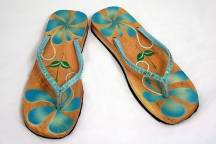 where flip flops(slippahs) are the only shoes you need