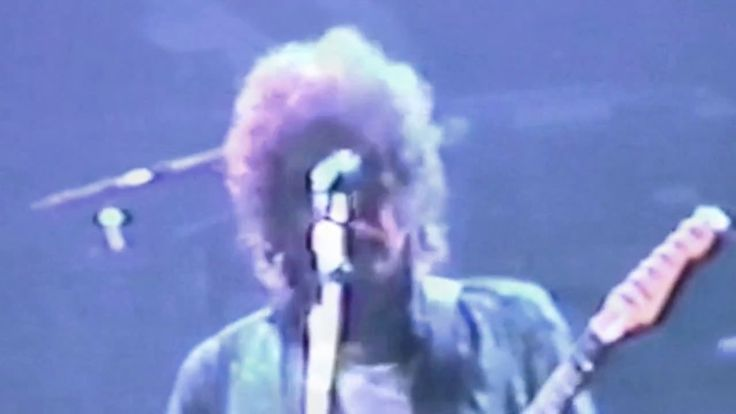 Bob Dylan Tom Petty Roger McGuinn George Harrison Wembley Arena.  1987