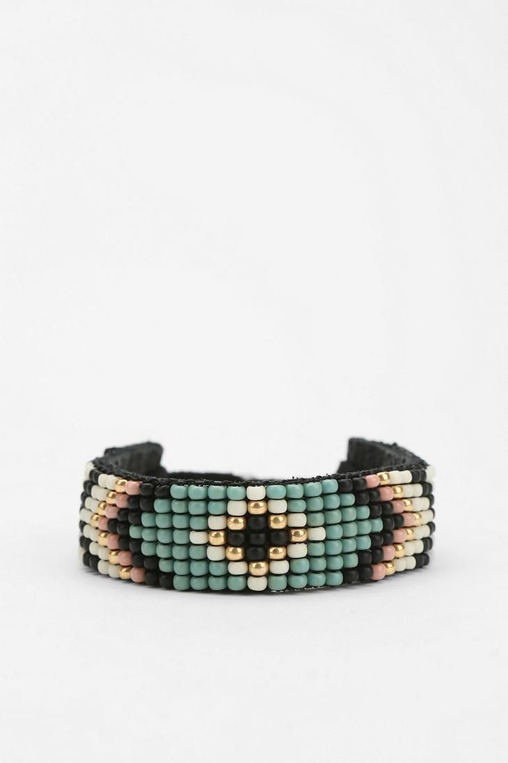 Kim  Zozi Beaded Bracelet #urbanoutfitters #bracelet