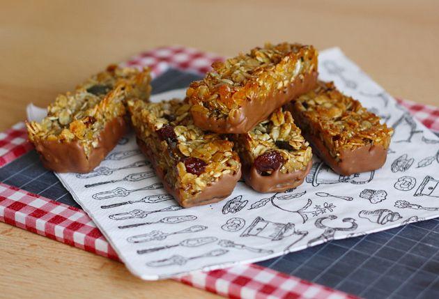 #Recette des barres de céréales maison #recipe http://www.modesettravaux.fr/recette-barres-de-cereales/