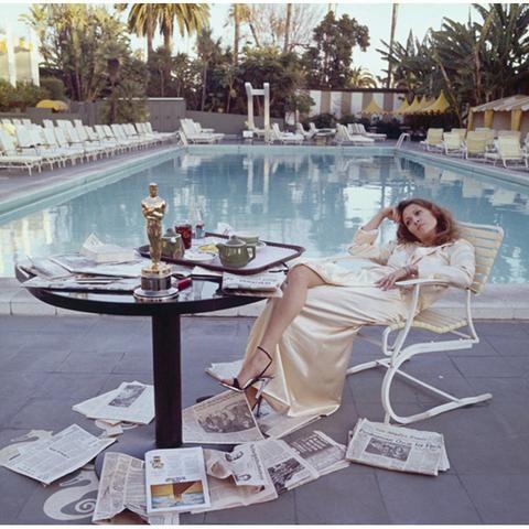 Terry O'Neill - Faye Dunaway Beverly Hills 1977 FAP006