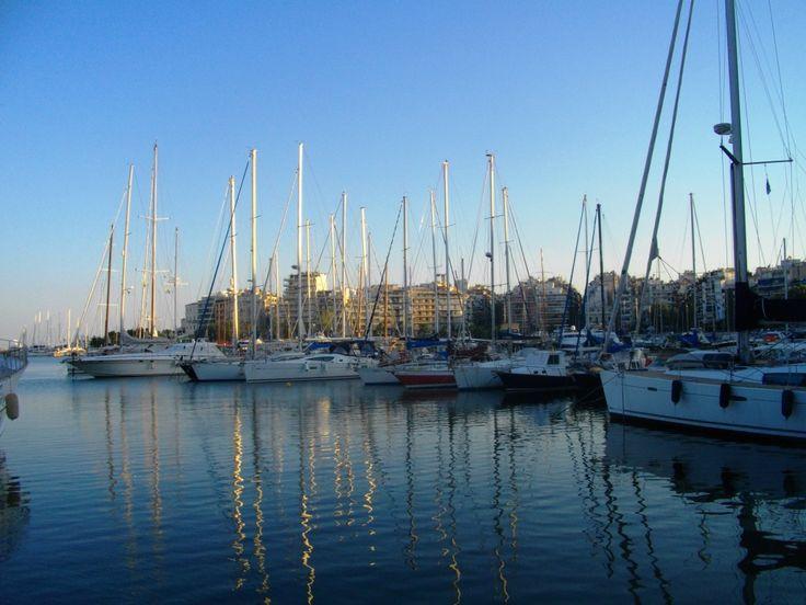 Pashalimani, yacht marina at Peiraias Greece