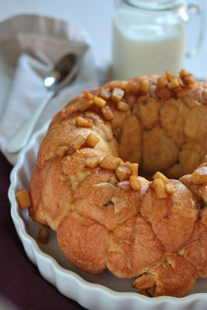 Apple Pie Stuffed Monkey Bread