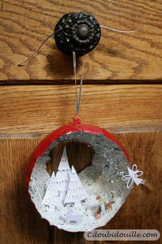 Couronne de Noël – DIY