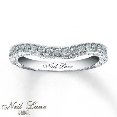 53176160199 - Neil Lane Wedding Band 1/3 ct tw Diamonds 14K White Gold