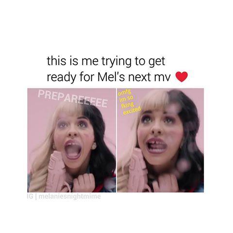 WHO ELSE CAN'T WAIT FOR MEL'S NEXT MV? ♥    #melaniemartinez #littlebodybigheart #limecrime #meme #makeup #cuteness #love #edits #crybabytour #crybabies #crybaby #crybabyalbum #gains #gainpost #gaintrick #music #alternative #radio #artist #troyesivan #lanadelrey #cake #carousel #soap #sippycup #halsey #arianagrande #twentyonepilots