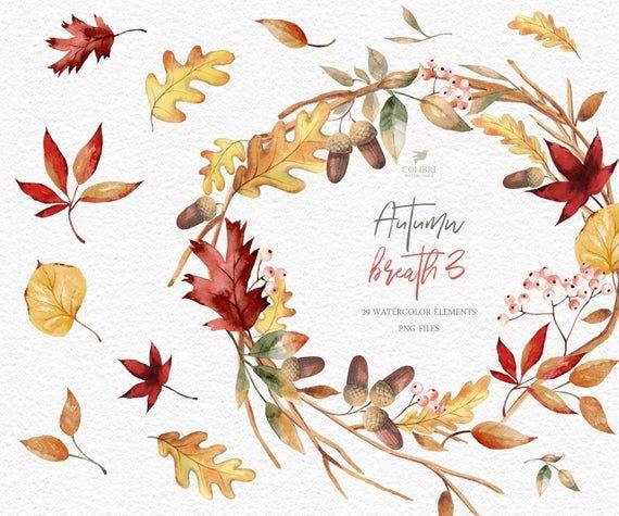 Fall Wreaths Clipart Fall Leaves Clipart Autumn Leaves Clipart Thanksgiving Wreath Clipart Autumn Wreath Clipart Leaves Wreath Leaf Clipart Wreath Illustration Clip Art