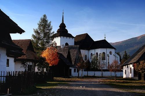 Museum of Liptov village  by veruška, via Flickr