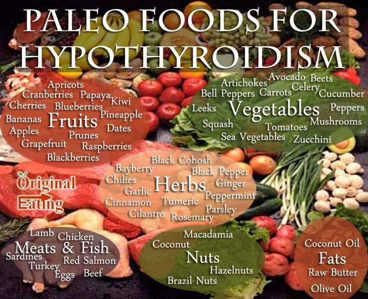 Learn facts that other sites won't tell you about the foods for Hypothyroidism and the Paleo Diet at Original Eating!