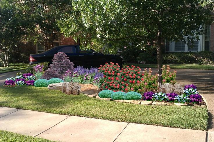 Landscape design dallas and landscapes on pinterest for Dallas landscape design