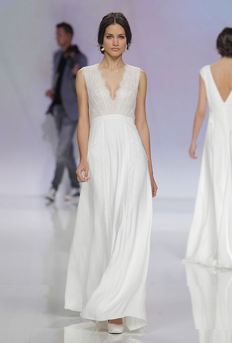 Brides.com: . Wedding dress by Rembo Styling