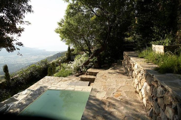 Dream house Sant Antonino, Corsica (26.000 pr uke)Pool with view of the sea and valley